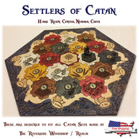 Catan - Magnetic Chit Upgrade