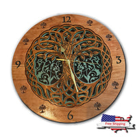 Mandala - Tree of Life Clock