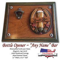 """Personalized"" Bar ~ Beer Opener"