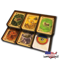 Catan - Base Game Card Tray