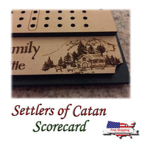 Catan - Family Scorecard