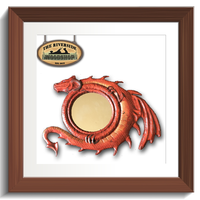 Fantasy Dragon Mirror