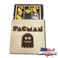 Tic Tac Toe - Pac Man Theme