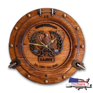 Military Retirement ~ Wall Clock