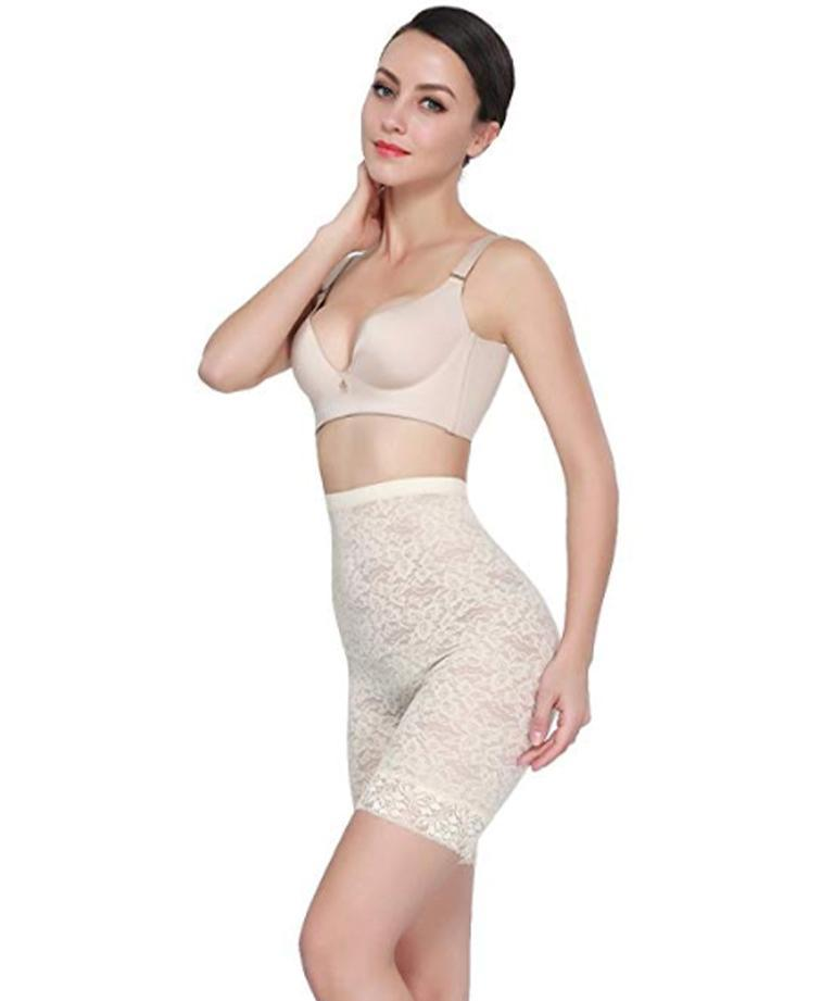 Shaper Lover © High-Waist Slimmer Shorts Shaperlover White 4XL
