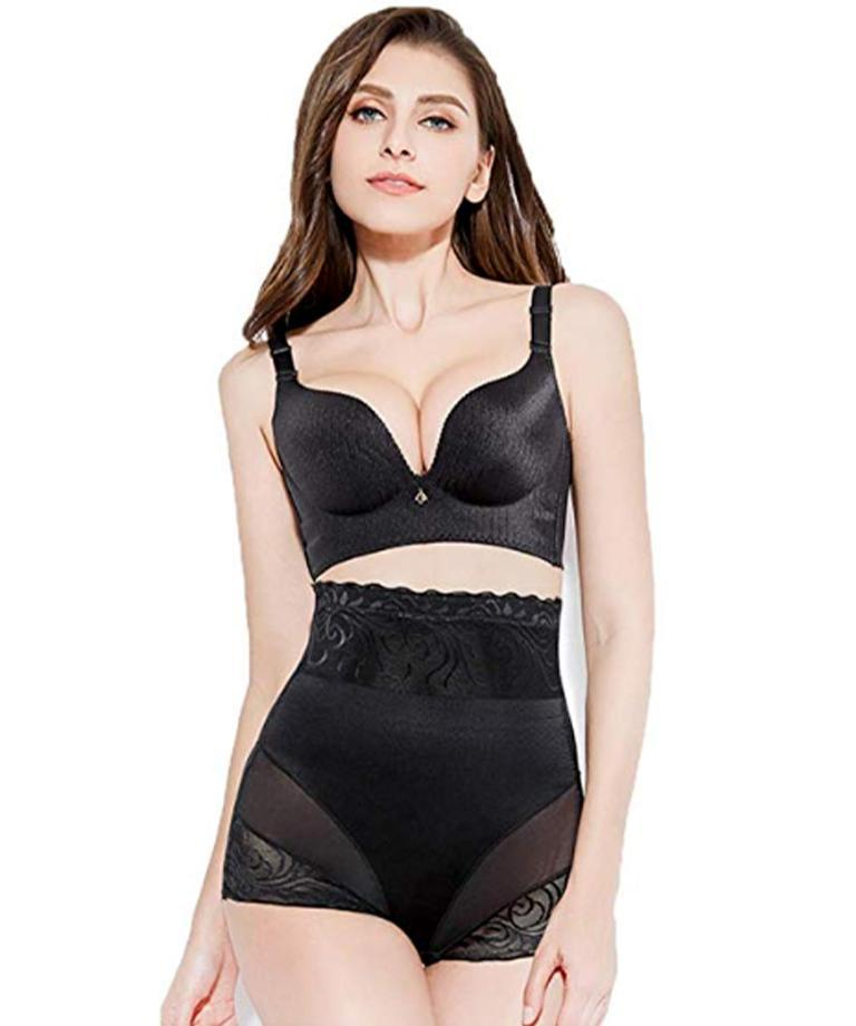 Tromtty © High Waist Tummy Control Shaperlover Black 2XL