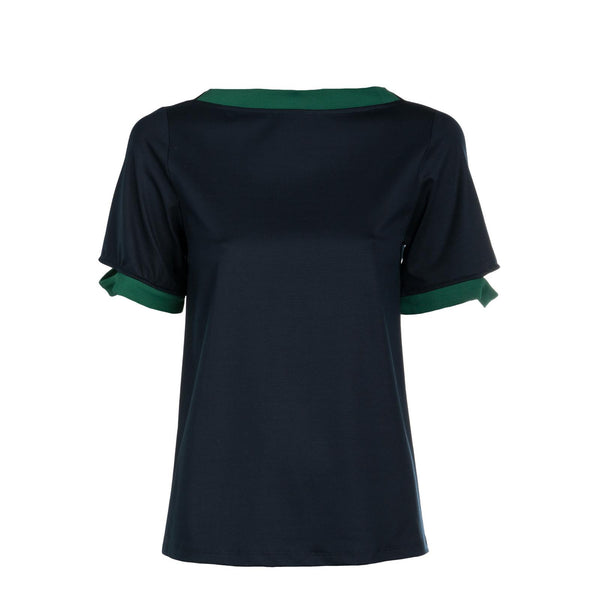 Boatneck Luxe Jersey Top