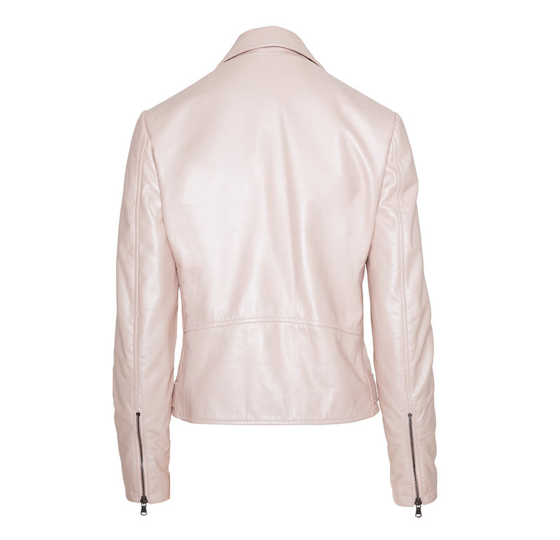 The Moto Jacket - Rose