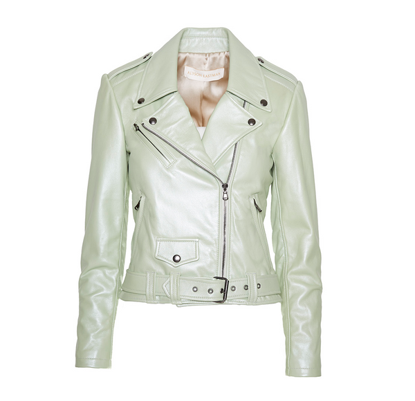 The Moto Jacket - Sage