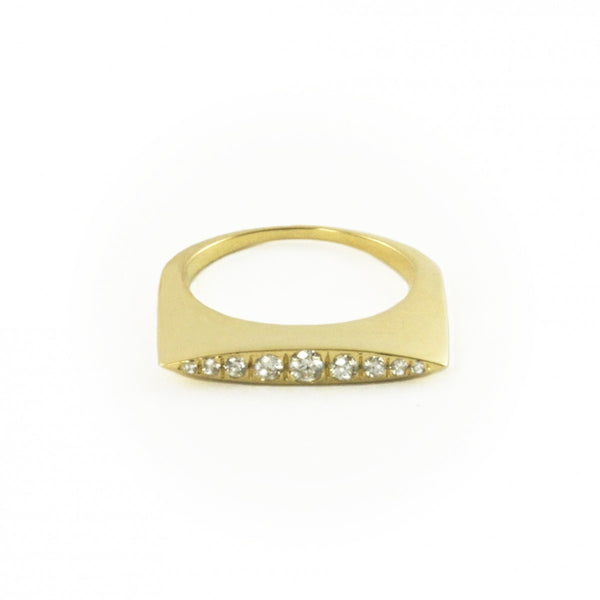 Convex Ring with Diamonds