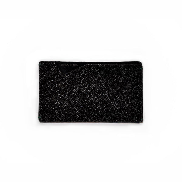 Black Stingray Card Case