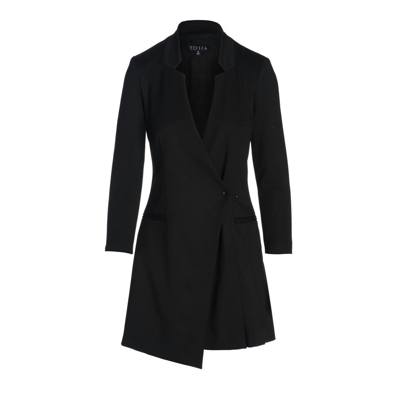 Dante Blazer Dress with Pinned Detail by TOSIA