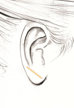 Straight Bar Earring