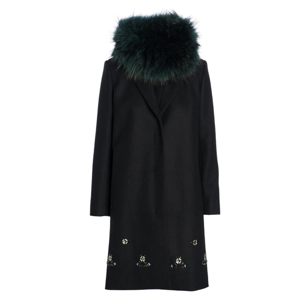 Embelished Coat by MAISON PERE