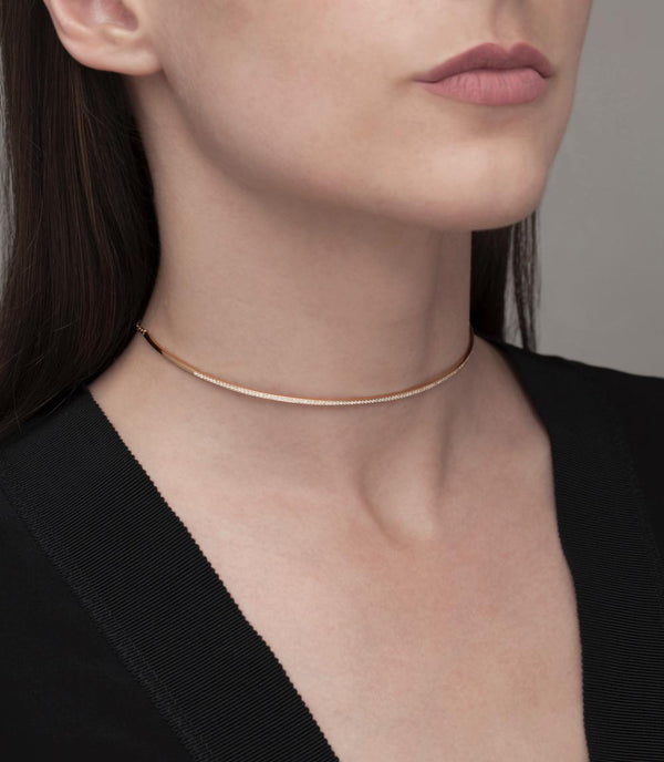 Electric Diamond Choker