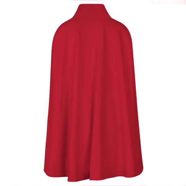 The Josephine Cape - Red