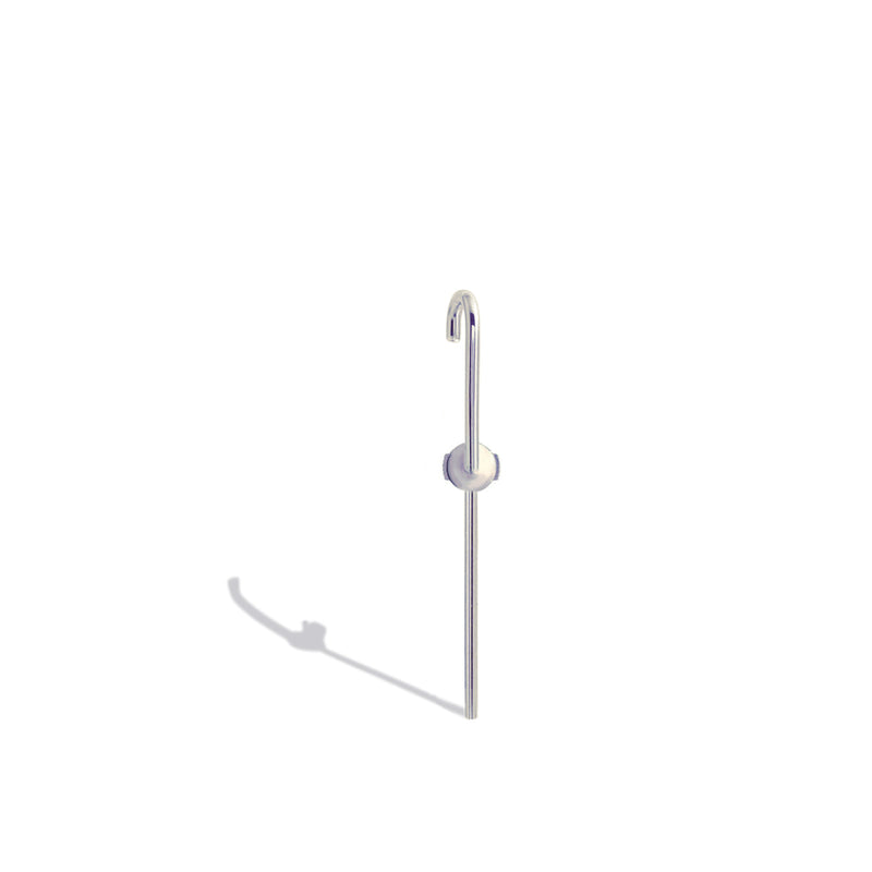 The Petite Ear Pin - 18 Karat White Gold