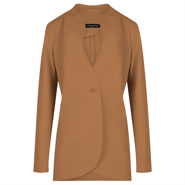The Laura Blazer - Camel