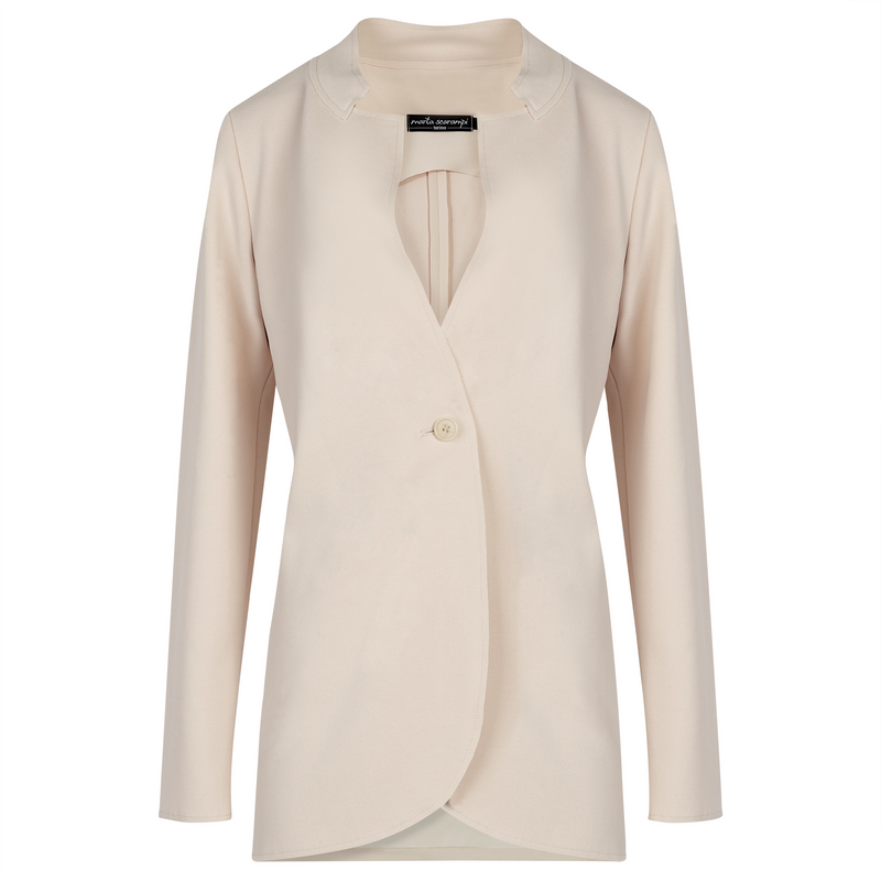 The Laura Blazer - Cream