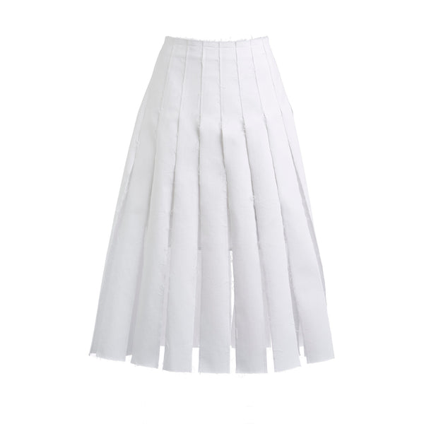 Olivia Pleated Skirt by REJINA PYO