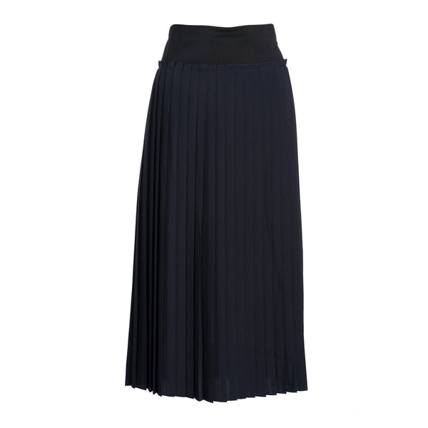 Pleated Skirt by MAISON PERE