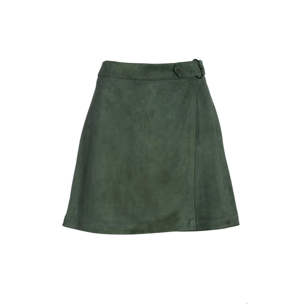 Steinem Suede Skirt by TOSIA