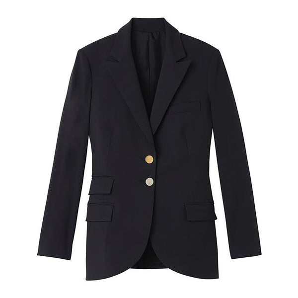 Black Rad Blazer by STEPHANIE RAD