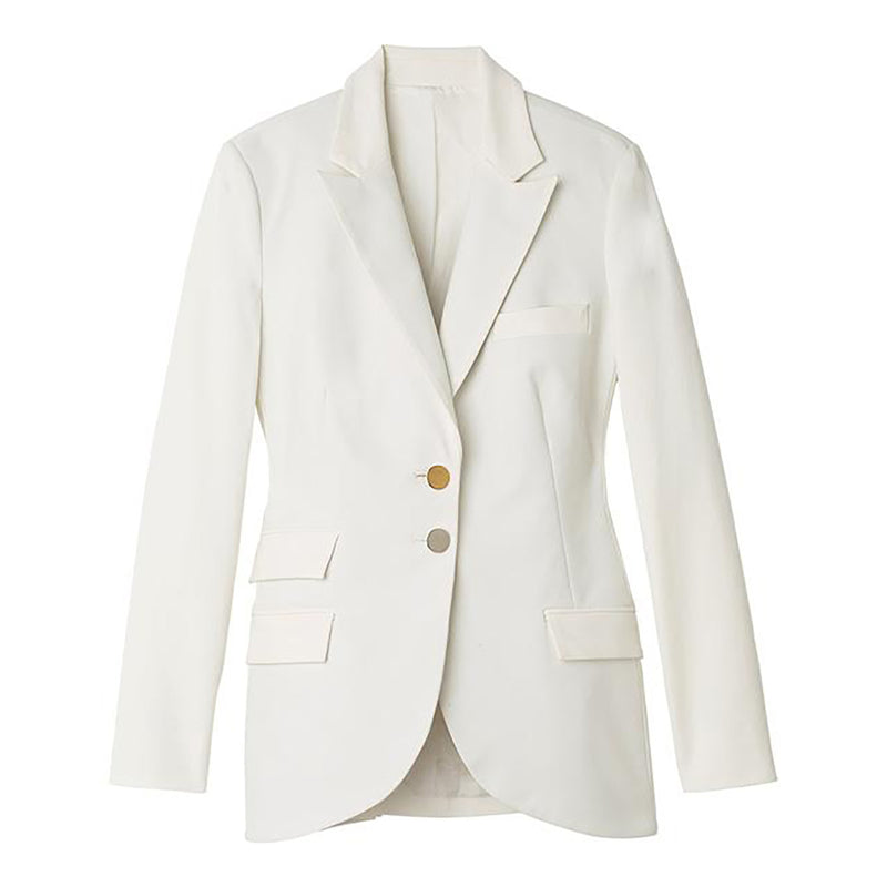 White Rad Blazer by STEPHANIE RAD