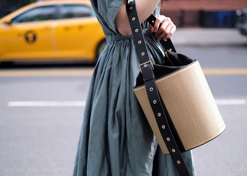 Grommet Jane Bucket Bag by VASIC