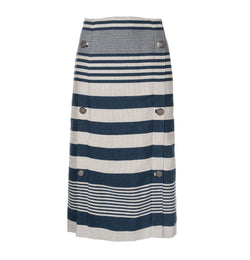 Symmetric Button Skirt