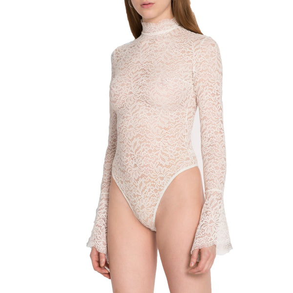 Ivory Haven Lace Bodysuit by ALIX NYC