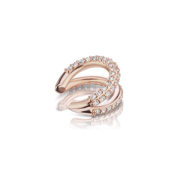 Inamorata II Ear Cuff - Rose Gold