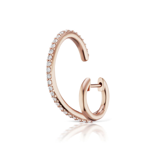 The Espionne II Earrings - Rose Gold
