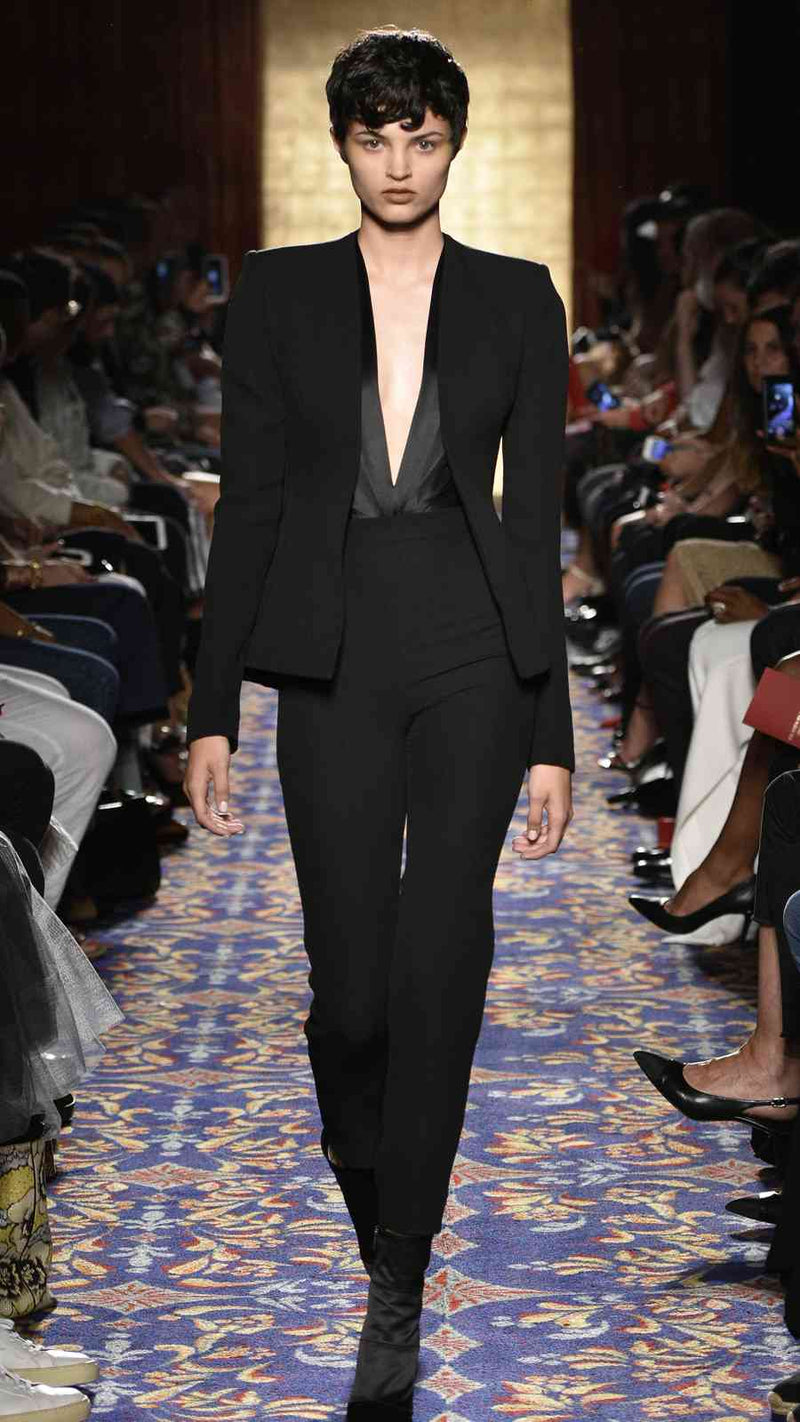 Black Cigarette Pant by BRANDON MAXWELL