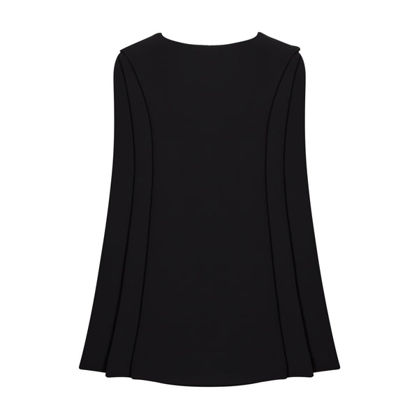 Black Sleeveless Layer Top by BRANDON MAXWELL