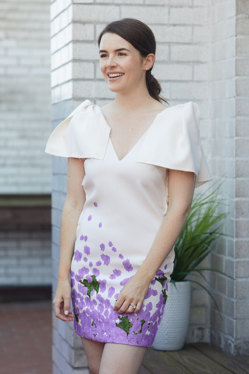 The Selene Floral Cocktail Dress