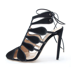 Calico Heels by CHLOE GOSSELIN