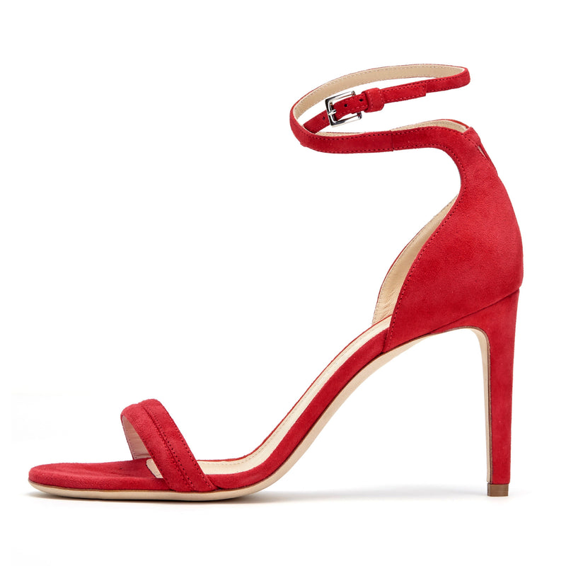 Red Suede Narcissus by CHLOE GOSSELIN