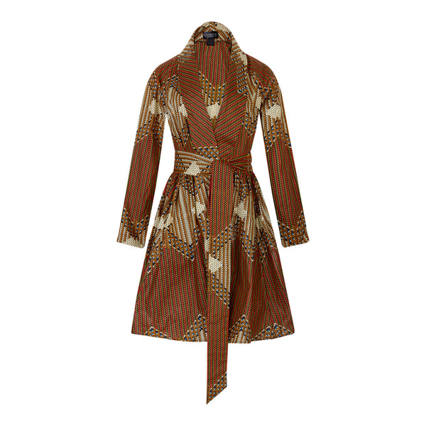 Gugu Wrap Coat Dress