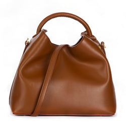 Raisin Tote in Cognac by ELLEME