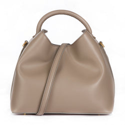 Raisin Tote in Taupe by ELLEME