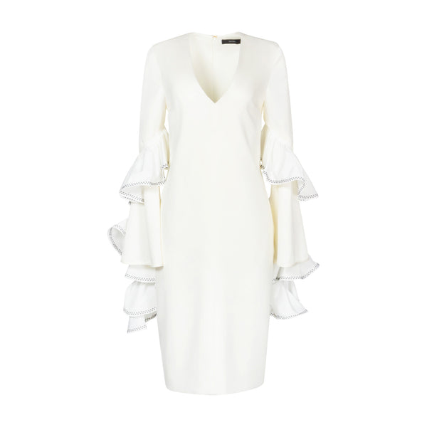 Molotov Ruffle Sleeve Dress by ELLERY