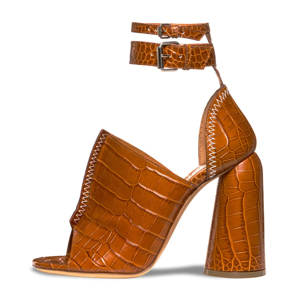 Tan Craft Heels by ELLERY
