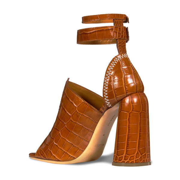 Tan Craft Heels