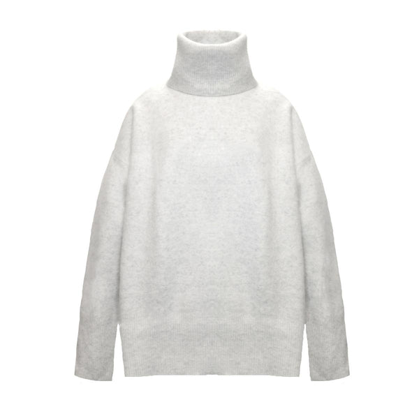 Heavy Merino Turtleneck Tunic