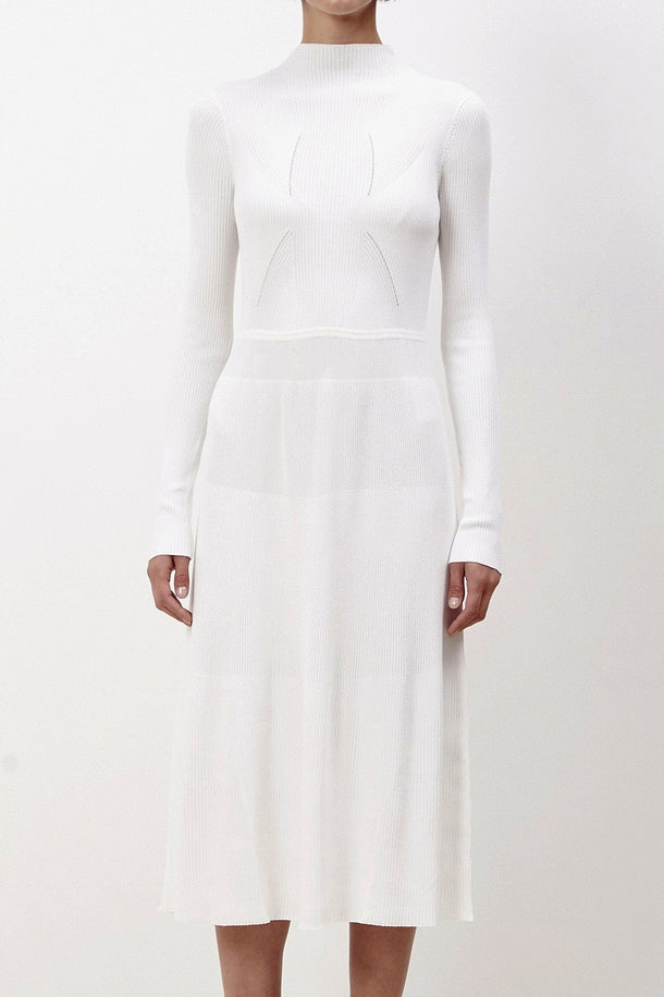 Contour Rib Dress by KALLMEYER