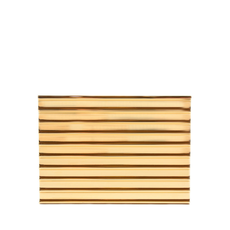 Gold Stack Clutch by LEE SAVAGE