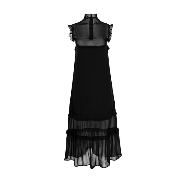 Sheer Black Dress by MAISON PERE