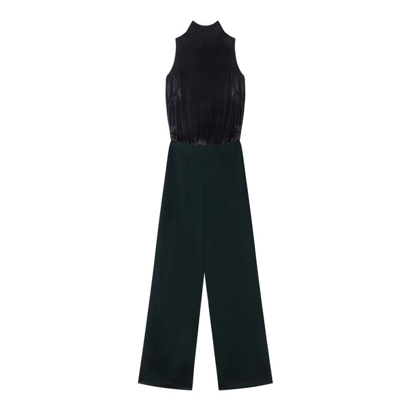 Divide Turtleneck Jumpsuit by STEPHANIE RAD