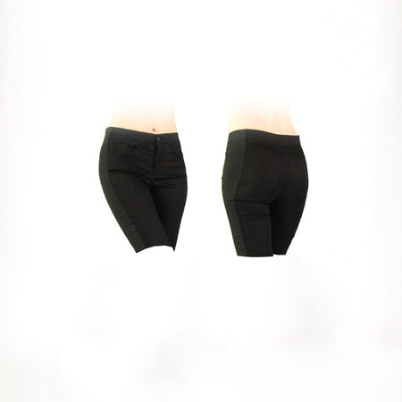 Women's All Black Golf Shorts